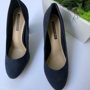 ef144d54dbef Farylrobin Shoes - Faryl robin Stella Block Heel Almond Toe Pumps